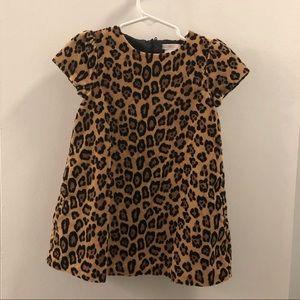 Janie and jack cheetah print dress